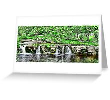 River Swale - Keld Greeting Card