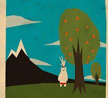 Yeti hearts bunny by Yetiland