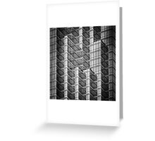 Stacked Glass Greeting Card