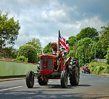 Colyton Tractor Run  by Susie Peek