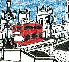 Westminster Bridge by Katie Jurkiewicz