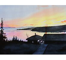 Rossport Bay Sunset Photographic Print
