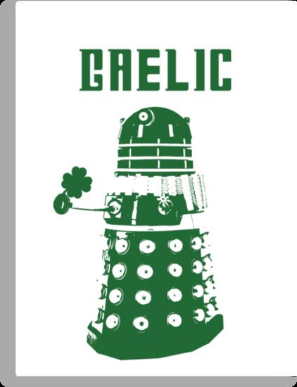 Gaelic Dalek by Mozzer1