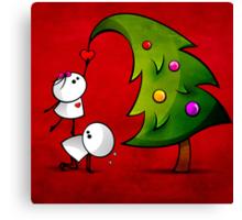 Merry Cristmas Canvas Print
