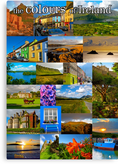 The colours of Ireland by Andrés Hurtado