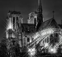 Notre Dame de Paris (HDR) Sticker