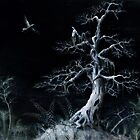 Tree By Night by Bjorn Eek