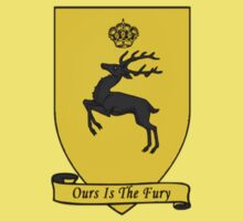 House Baratheon Tee by Gqualizza