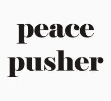 peace pusher b&w by QuietRebel