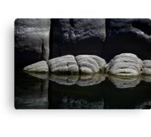 Granite Symetrical Canvas Print