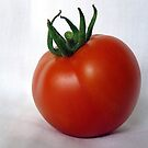 Vine ripened tomato by Jim Sauchyn