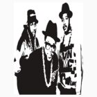 RUN DMC by Ollie Mason