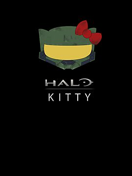 Halo Kitty-Green by Sakena