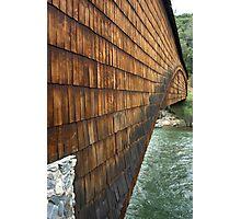Covered bridge at Bridgeport Photographic Print