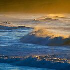 waves in sunlight by geophotographic