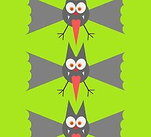 Vampire Bats by Chillee Wilson by ChilleeWilson