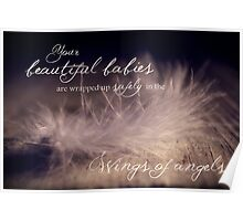 Safely Wrapped Babies Poster