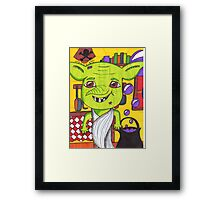 Cheeky House Elf Framed Print