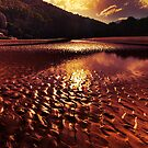 """Metalic Glow"" by Heather Thorning"