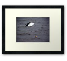 The Sinking of Tina Framed Print
