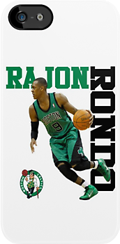 Rajon Rondo iPhone case by Viral5