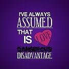 Dangerous Disadvantage by KitsuneDesigns