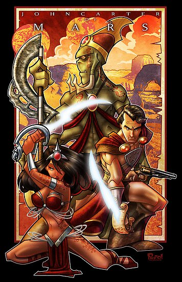 John Carter of Mars by Jon Pinto
