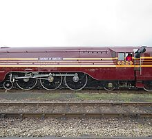 LMS Princess Coronation class 6299 Duchess Of Hamilton by Keith Larby