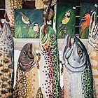 Victoria's Colorful Display at Farmer's Market - Ann Arbor by Robert Kelch, M.D.