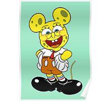 Sponge mickey Poster