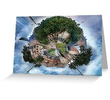The Big Tree, The Little Planet. Greeting Card