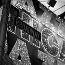 Broadway Sign, New York City by Sean Allard