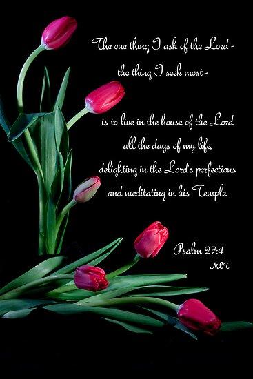 Psalm 27:4 by Deborah McLain
