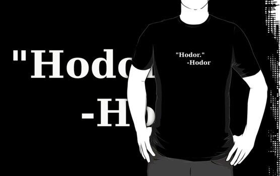 Hodor by uncmfrtbleyeti