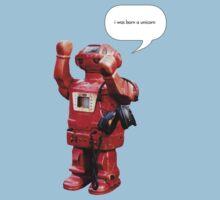 Bibot Robot- i was born a unicorn Kids Clothes