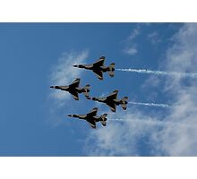4 Formation Photographic Print