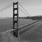 #1092  Golden Gate Bridge In San Francisco by MyInnereyeMike