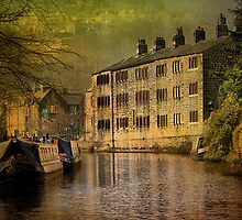 Hebden Bridge Canal  by Irene  Burdell