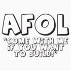 AFOL 'Come with Me if You Want to Build' by Customize My Minifig by ChilleeW