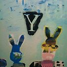 Y Rabbits(evil) by Roy B Wilkins