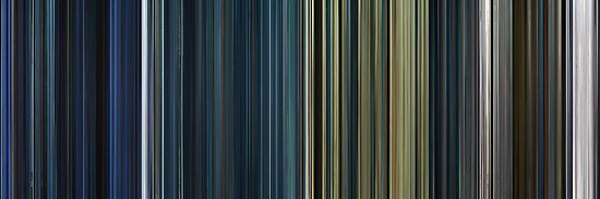 Moviebarcode: The Complete Resident Evil (2002-2010) by moviebarcode