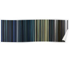 Moviebarcode: The Complete Resident Evil (2002-2010) Poster