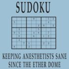Sudoku anesthetists by Espressomaker