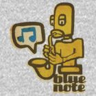 blue note remixed by Ben Lucas