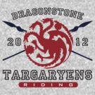 Dragonstone Targaryens by inspctrspactime