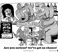 Elephants v's Goldfish pub quiz by toucanjester