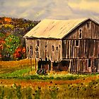 Pleasant Valley Barn by lindybird
