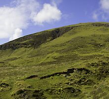 Trotternish Ridge on the Isle of Skye Panorama  by Paul Messenger
