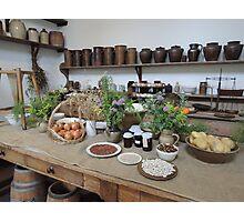 1800s Kitchen Photographic Print