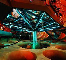Interior 11 TARDIS - Underside by littleredfez